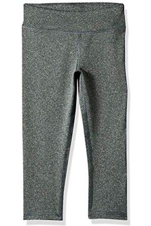 Amazon Active Capri Legging, leggings-pants girls, Grey Spacedye, 95 cm