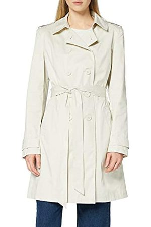 FIND Marchio Amazon - Trench in Cotone Donna, Beige , 46, Label: L