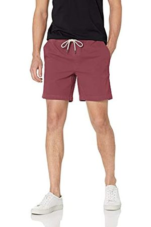 Goodthreads Marchio Amazon - 7 inch Inseam Pull-On Stretch Canvas Short Flat-Front-Shorts, 890v6, US S
