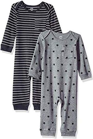 Amazon Tutina da bambino, confezione da 2, Uni Star Stripe Neutral, Preemie