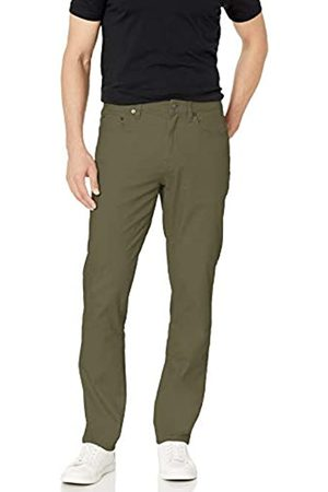 Amazon Athletic-Fit 5-Pocket Stretch Twill Pant Casual-Pants, Jacky's, 33W x 30L