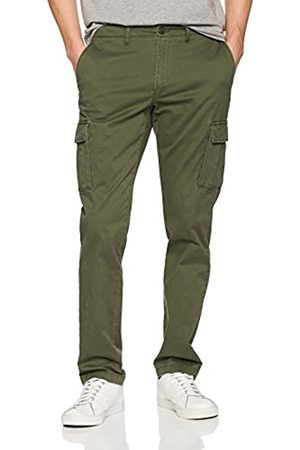 Goodthreads Slim-Fit Cargo Pant Pantaloni Casual, Deep Depth/Olive, 35W / 29L