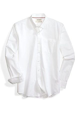 Goodthreads Standard-Fit Long-Sleeve Solid Oxford Shirt Hemd, white, X-L