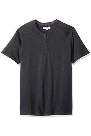 Goodthreads Marchio Amazon - , maglia Henley in jersey da uomo, a maniche corte, effetto scamosciato, Cruz V2 Fresh Foam, US XL