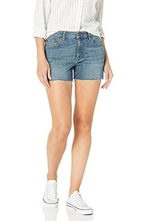Goodthreads Donna Pantaloncini - Denim Raw Edge Short Shorts, Authentic Blue, 29