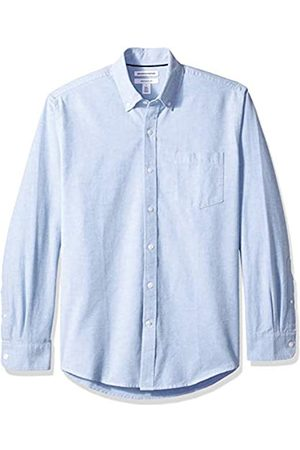 Amazon Regular-Fit Long-Sleeve Solid Pocket Oxford Camicia, , US L
