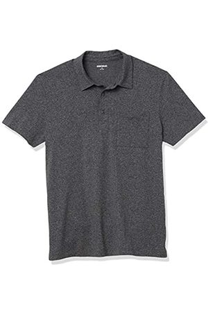 Goodthreads Polo in Cotone Shirts, Antracite Melange, US XXXL