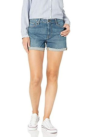 Goodthreads Denim Turn-Cuff Short Shorts, Authentic Blue, 24