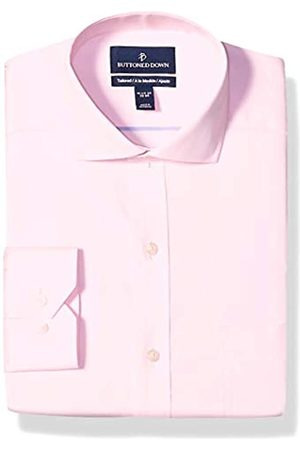 """Buttoned Down Tailored Fit Cutaway Collar Solid Non-Iron Dress Shirt Camicia, , 17.5"""" Neck 37"""" Sleeve"""