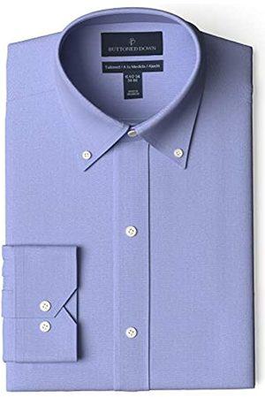 """Buttoned Down Marchio Amazon - , camicia da uomo, aderente, con colletto a bottoni, tinta unita, in cotone Supima, non necessita di stiratura, , 19"""" Collo 39"""" Manica"""