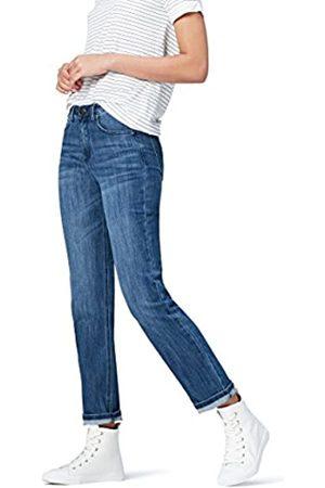 FIND Donna Straight - Marchio Amazon - Jeans Dritti Vita Regular Donna, , 36W / 32L, Label: 36W / 32L