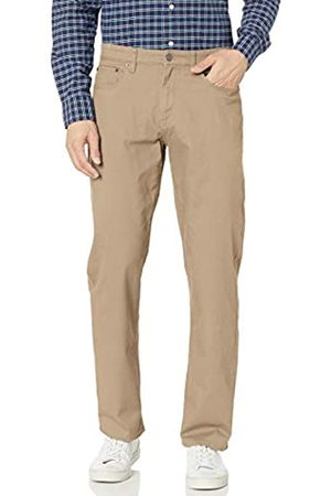 Amazon Relaxed-Fit 5-Pocket Stretch Twill Pant Pantaloni Casual, Cachi, 29W / 30L