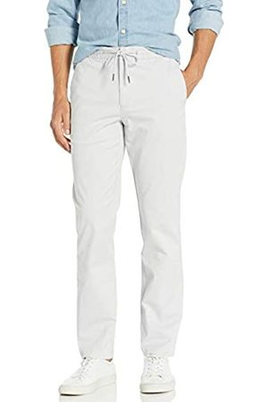 """Goodthreads Uomo Chinos - Straight-Fit Washed Chino Drawstring Pant Casual-Pants, Chiaro, XX-Large/34"""" Inseam"""