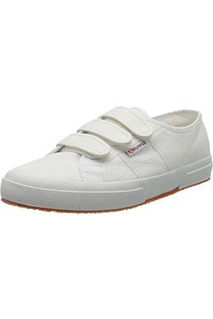 Superga 2750-COT3STRAPU, Sneaker Unisex Adulto, Bianco , 44.5 EU