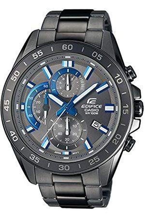 Casio EDIFICE Orologio, Robusta Cassa, 10 BAR, /Azzurro, Uomo con Cinturino in Acciaio Inox EFV-550GY-8AVUEF