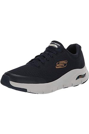 Skechers Arch Fit, Sneaker Uomo, Blu , 41.5 EU