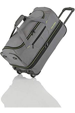 Elite Models' Fashion Basics Trolley Reisetasche auf Rollen 55cm, erweiterbar auf 64 Liter Volumen, in drei Farben Tote da viaggio 55 centimeters 51 Grigio