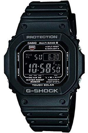Casio G-SHOCK Orologio 20 BAR, Nero, con Ricezione Segnale Radio e Funzione Solare, Digitale, Uomo, GW-M5610-1BER