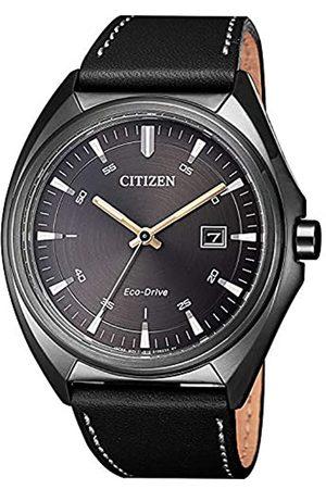 Citizen Orologio Analogico Quarzo Uomo con Cinturino in Pelle AW1577-11H