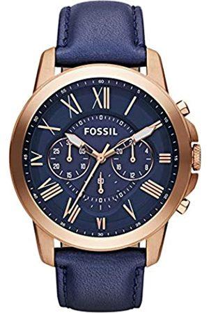 Fossil Orologio Cronografo Quarzo Uomo con Cinturino in Pelle FS4835IE