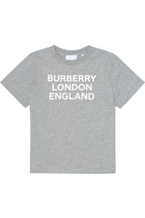 Burberry T-shirt in cotone con logo