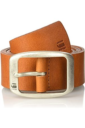 G-Star Ladd Belt Cintura, Marrone , 110 cm Uomo