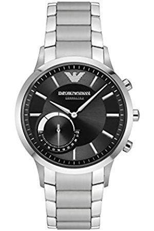 Emporio Armani Smartwatch Hybrid Connected Uomo con Cinturino in Acciaio Inossidabile ART3000