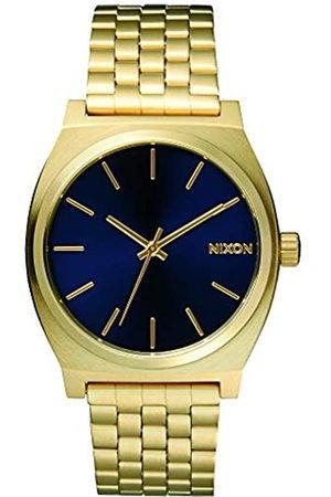 Nixon Orologio da Uomo Analogico al Quarzo con Cinturino in Acciaio Inossidabile – A045-1931_Gold tone