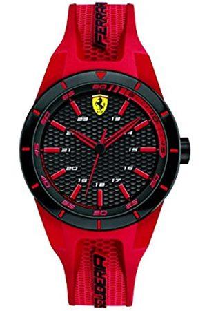 Scuderia Ferrari Orologio Unisex Analogico al Quarzo con Cinturino in Silicone 0840005
