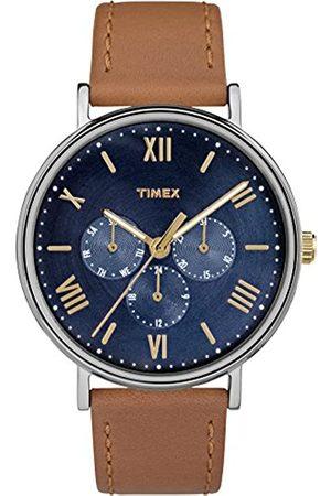 Timex Southview TW2R29100 Orologio da Polso al Quarzo da Uomo, Cinturino in Pelle