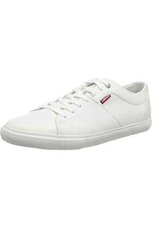 Levi's Woods, Sneaker Uomo, Bianco , 40 EU