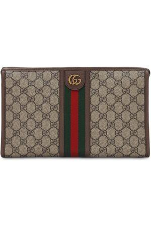 Gucci Beauty Case In Tela Gg Supreme Con Web