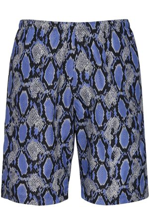 Pins & Needles Shorts Mare In Nylon Stampa Pitone