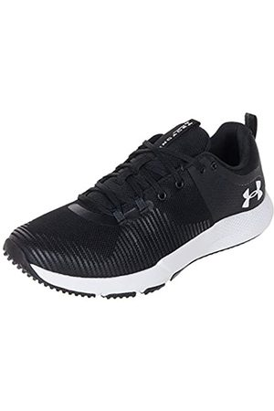 Under Armour Men's Charged Engage Hallenschuhe, Scarpe Sportive Indoor Uomo, Nero 001), 45 EU