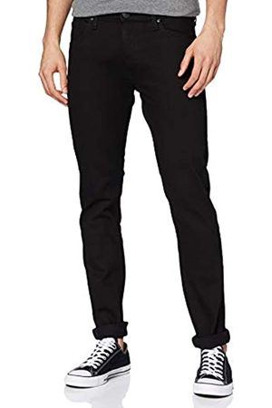 Lee Luke Slim Tapered Fit Jeans, Uomo, Nero , 32W/32L