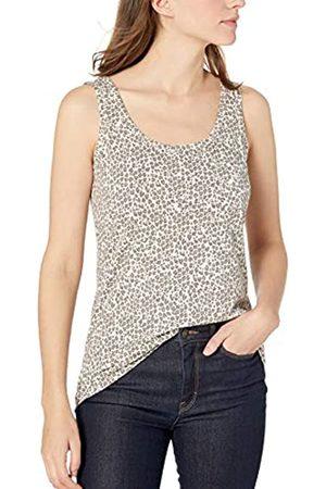 Goodthreads Vintage Cotton Pocket Tank Dress-Shirts, Grey Leopard, US XL