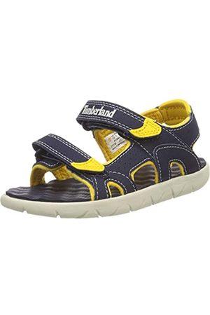 Timberland Perkins Row 2-strap, sandalo juniors Aperta Unisex-Bambini, Blu , 23 EU