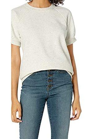 Goodthreads Camicia a Maniche Corte in Pile Dress-Shirts, Naturale/Multi NEP, US L