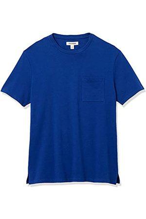 Goodthreads Heavyweight Oversized Short-Sleeve Crewneck T-Shirt Novelty-t-Shirts, Bright Blue, US