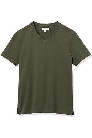 Goodthreads Heavyweight Oversized Short-Sleeve V-Neck T-Shirt Novelty-t-Shirts, Jacky's, US XXL