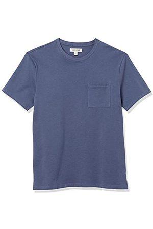 Goodthreads Heavyweight Oversized Short-Sleeve Crewneck T-Shirt Fashion-t-Shirts, Denim, US M
