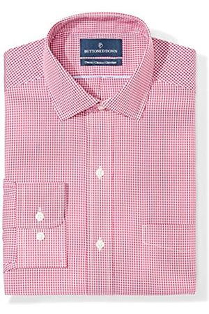 """Buttoned Down Classic Fit Spread Collar Pattern Camicia, , 15"""" Neck 36"""" Sleeve"""
