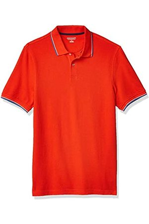 Amazon Polo Aderente in Cotone piqué Shirts, / e , US XXL