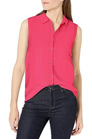 Amazon Camicia Senza Maniche in Lino Dress-Shirts, Brillante, US XL