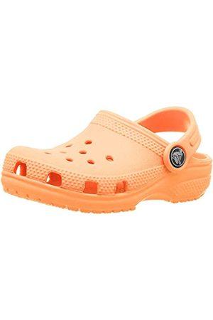 Crocs Roomy Fit Classic Clog, Zoccoli Unisex Bambini, Arancione , 27/28 EU