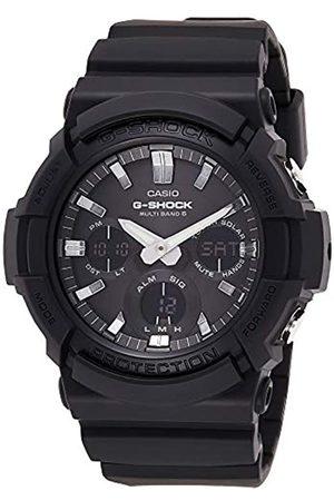 Casio G-SHOCK Orologio 20 BAR, , con Ricezione Segnale Radio e Funzione Solare, Analogico - Digitale, Uomo, GAW-100B-1AER