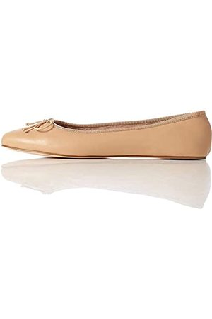 FIND Leather Ballet Pump Ballerine, ), 40 EU