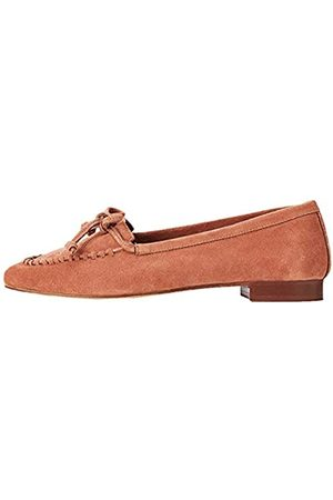 FIND Donna Stringate e mocassini - Moccassin Mocassini, Tan), 36 EU