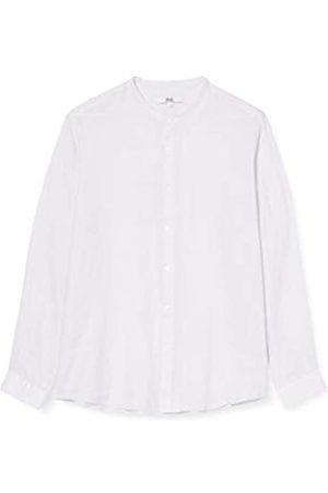 FIND Marchio Amazon - Camicia di Lino a Manica Lunga Uomo, Purple , 3XL, Label: 3XL