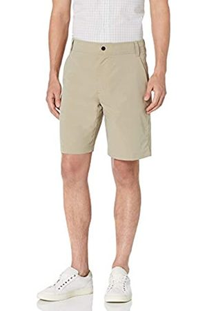 "Amazon Regular-Fit Hybrid Tech 9"" Short Athletic-Shorts, Khaki Chiaro, 29"